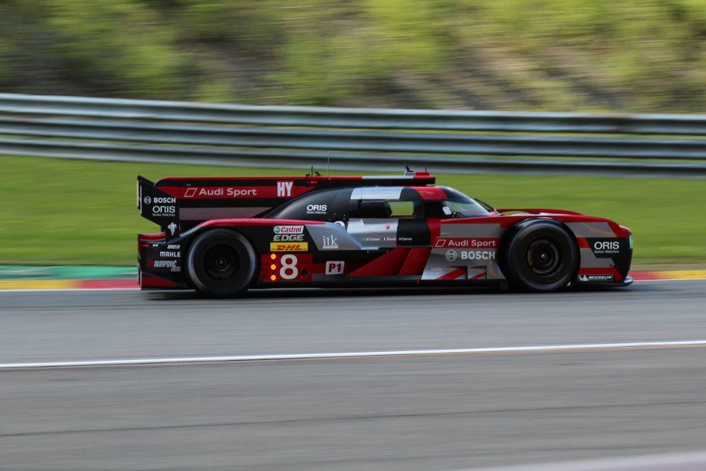 Audi Sport Team Joest #8 - Lucas di Grassi, Loic Duval, Oliver Jarvis Photo: JJ Media