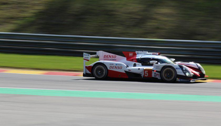 Toyota Gazoo Racing #5, Anthony Davidson, Sebastien Buemi, Kazuki Nakajima Photo: JJ Media