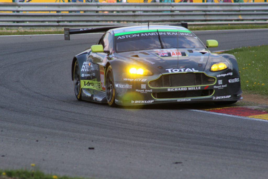 Aston Martin Racing #98 Mathias Lauda, Paul Dalla Lana, Pedro Lamy Photo: JJ Media