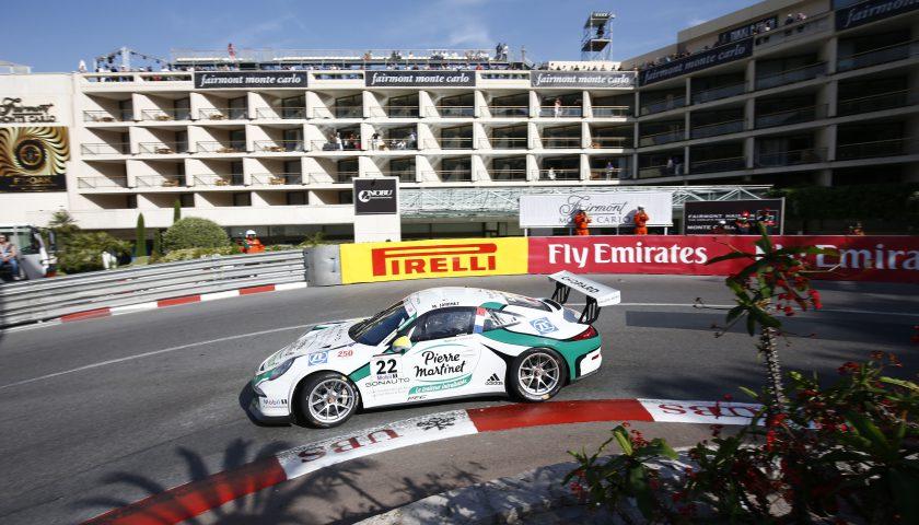 Mathieu Jaminet (F) Porsche Mobil 1 Supercup Monaco 2016 Photo: Porsche Media