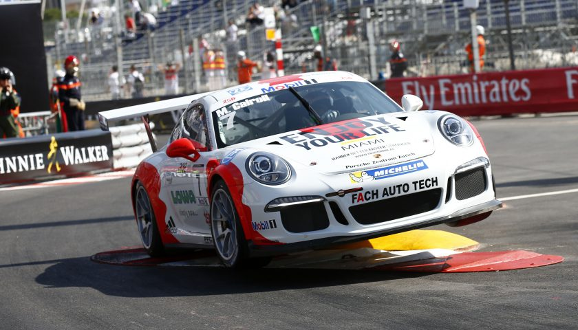 Matteo Cairoli (I) Porsche Mobil 1 Supercup Monaco 2016 Photo: Porsche Media