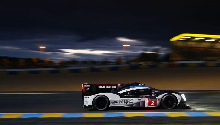 Porsche 919 Hybrid, Porsche Team: Romain Dumas, Neel Jani, Marc Lieb Photo: Porsche Presse