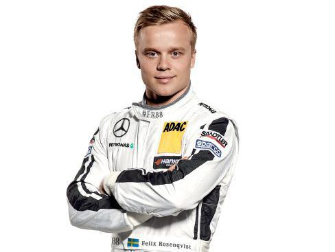 Felix Rosenqvist Photo: Mercedes Presse