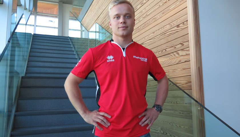 Felix Rosenqvist Photo: Mahindra Racing