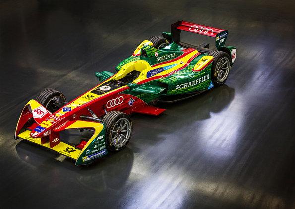 ABT Schaeffler FE02 Photo: Audi Sport