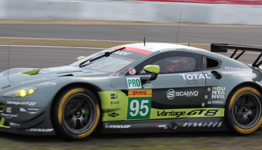 Aston Martin Racing #95 Photo: JJ Media