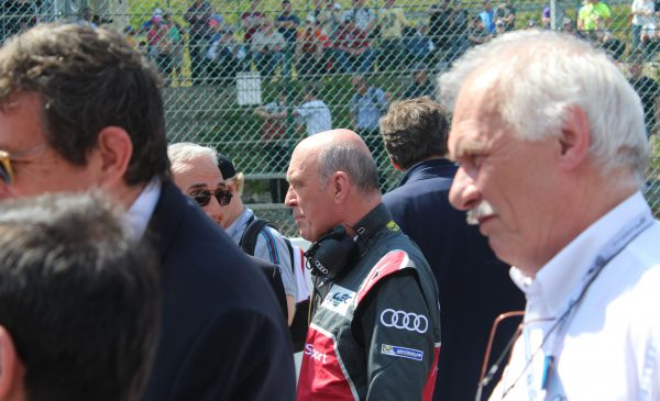 Two important Audi Sport personalities - Dr. Wolfgang Ullrich and Ulrich Baretzky Photo: JJ Media
