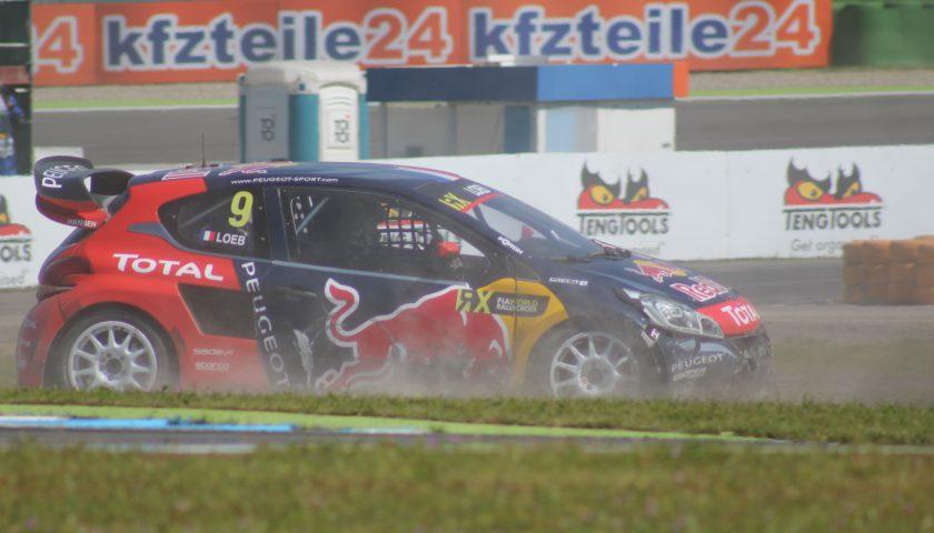 Sebastien Loeb Team Peugeot-Hansen Photo: JJ Media