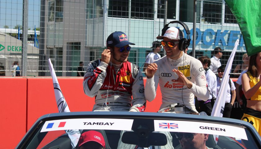 Jamie Green shoud be secure at Audi for 2017 - but what about Adrien Tambay? Photo: JJ Media