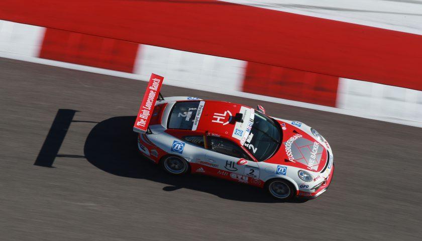 Sven Müller (D) Porsche Mobil 1 Supercup Austin 2016