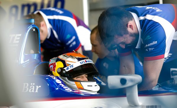 MS Amlin Andretti's António Félix da Costa experienced electrical difficulties and was unable to finish the race. Photo: Adam Warner / LAT/ Formula E