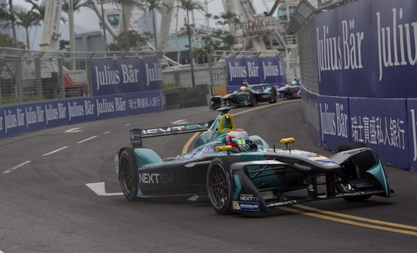 The NEXTEV Nio team expects an exciting race in the streets of Marrakesh Photo: FIA Formula E