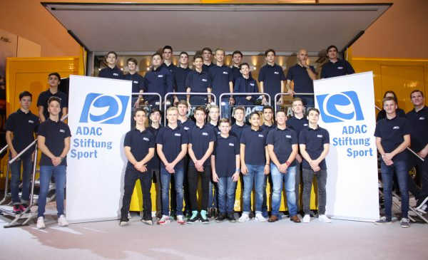 The 33 Sponsorship Programm members of ADAC Stiftung Sport Photo: Annika Göcke
