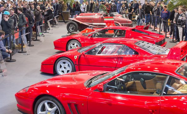 Special exhibition on the occasion of the 70th birthday of Ferrari Photo: Rainer Schimm/ ©MESSE ESSEN GmbH