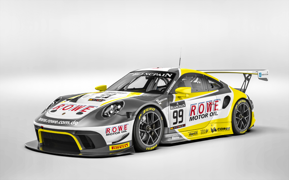 ROWE RACING to compete with 2 Porsche 911 GT3 R in the 24 ...